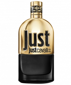 ROBERTO CAVALLI - JUST GOLD FOR HIM EDT 90 ML